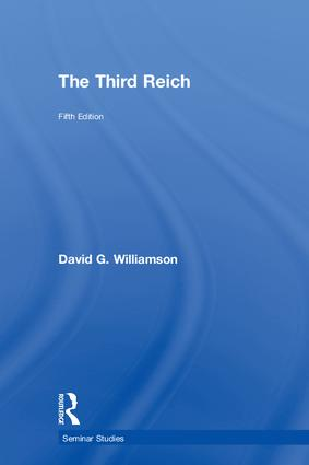 The Third Reich: 5th Edition (Hardback) book cover