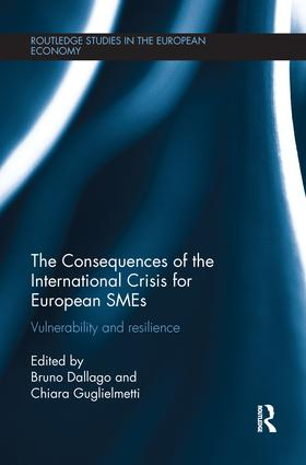 The Consequences of the International Crisis for European SMEs: Vulnerability and Resilience book cover