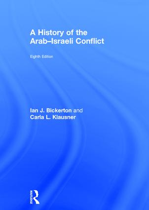 A History of the Arab–Israeli Conflict book cover