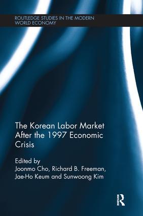 The Korean Labour Market after the 1997 Economic Crisis: 1st Edition (Paperback) book cover