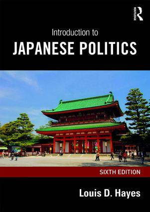 Introduction to Japanese Politics: 6th Edition (Paperback) book cover