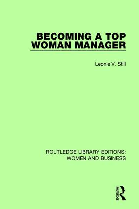 Becoming a Top Woman Manager book cover