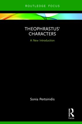 Theophrastus' Characters: A New Introduction book cover
