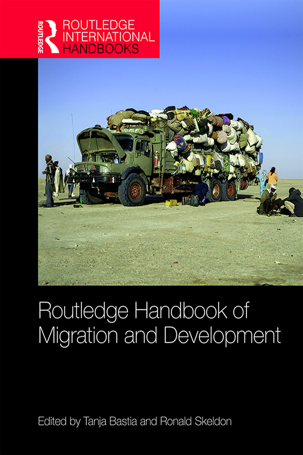 Routledge Handbook of Migration and Development book cover
