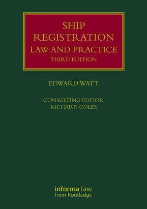 Ship Registration: Law and Practice book cover