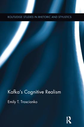 Kafka's Cognitive Realism book cover