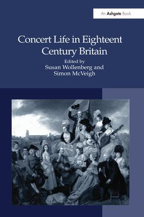 Concert Life in Eighteenth-Century Britain (Paperback) book cover