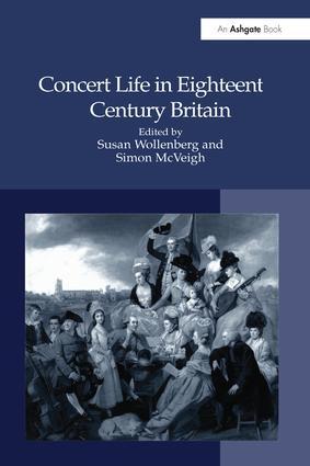 Concert Life in Eighteenth-Century Britain book cover