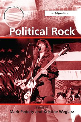 Political Rock: 1st Edition (Paperback) book cover