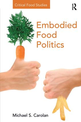 Embodied Food Politics (Paperback) book cover