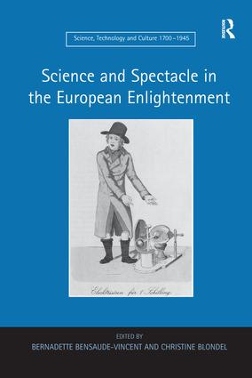 Science and Spectacle in the European Enlightenment book cover
