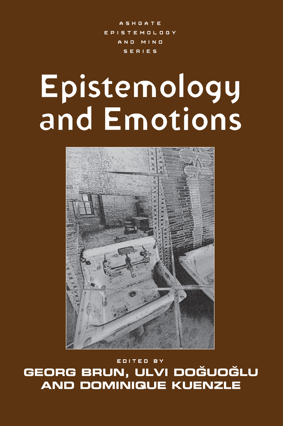 Epistemology and Emotions: 1st Edition (Paperback) book cover