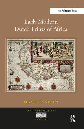 Early Modern Dutch Prints of Africa book cover