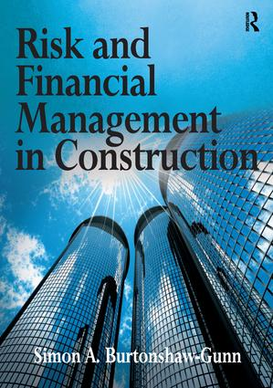 Risk and Financial Management in Construction (Paperback) book cover