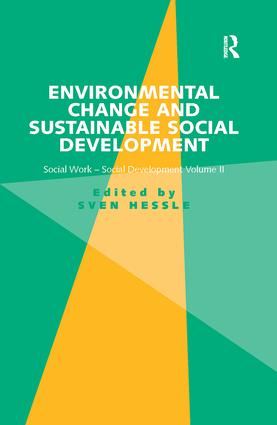 Environmental Change and Sustainable Social Development