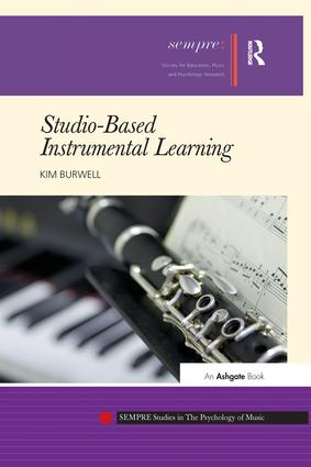 Studio-Based Instrumental Learning: 1st Edition (Paperback) book cover