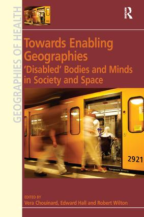 The Geographies of Interdependence in the Lives of People with Intellectual Disabilities