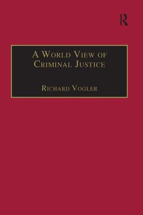A World View of Criminal Justice book cover