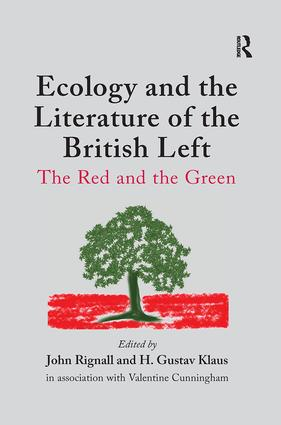 Ecology and the Literature of the British Left: The Red and the Green book cover