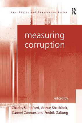 Measuring Corruption: 1st Edition (Paperback) book cover