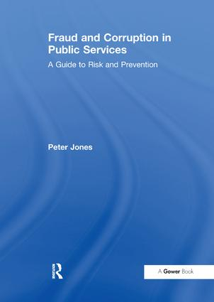 Fraud and Corruption in Public Services book cover