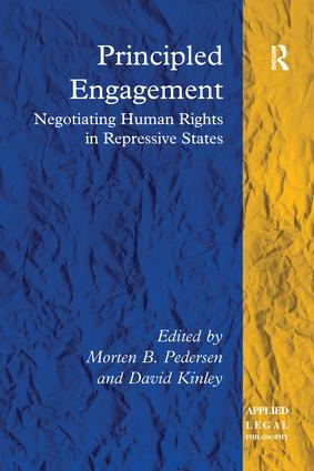 Principled Engagement: Negotiating Human Rights in Repressive States book cover