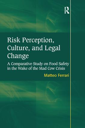 Risk Perception, Culture, and Legal Change