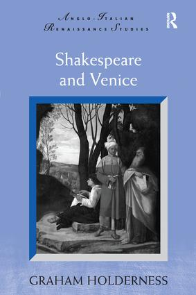 Shakespeare and Venice book cover