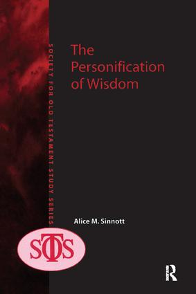 The Personification of Wisdom: 1st Edition (Paperback) book cover
