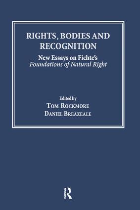 Rights, Bodies and Recognition