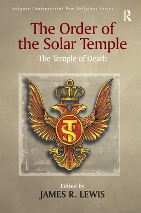The Order of the Solar Temple (Paperback) book cover