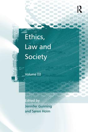 Ethics, Law and Society: Volume III, 1st Edition (Paperback) book cover