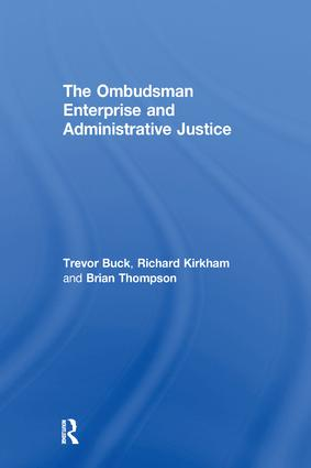 Independence and Accountability: Legitimizing the Ombudsman