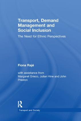 Transport, Demand Management and Social Inclusion: The Need for Ethnic Perspectives book cover