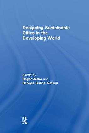 Designing Sustainable Cities in the Developing World: 1st Edition (Paperback) book cover