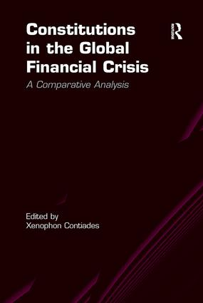 Constitutions in the Global Financial Crisis: A Comparative Analysis book cover