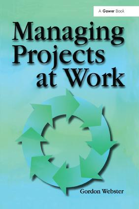Managing Projects at Work: 1st Edition (Paperback) book cover