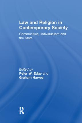 Law and Religion in Contemporary Society: Communities, Individualism and the State, 1st Edition (e-Book) book cover
