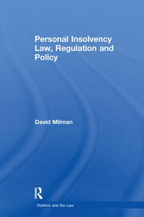Personal Insolvency Law, Regulation and Policy book cover