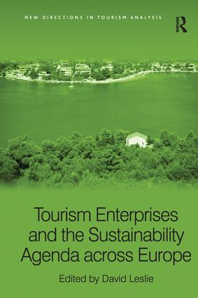 Tourism Enterprises and the Sustainability Agenda across Europe book cover