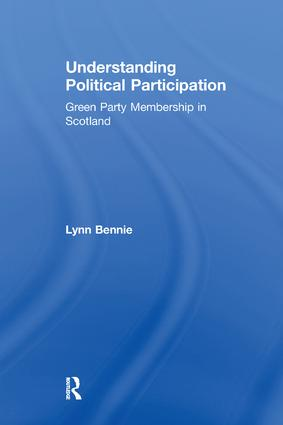 Explaining Participation: Learning From Social Movement Approaches