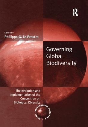 Governing Global Biodiversity: The Evolution and Implementation of the Convention on Biological Diversity book cover