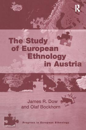 The Study of European Ethnology in Austria book cover