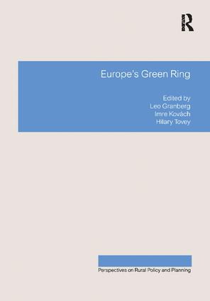 Europe's Green Ring: 1st Edition (Paperback) book cover