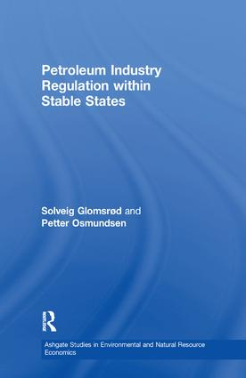 Petroleum Industry Regulation within Stable States: 1st Edition (Paperback) book cover