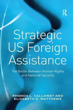 Strategic US Foreign Assistance: The Battle Between Human Rights and National Security book cover