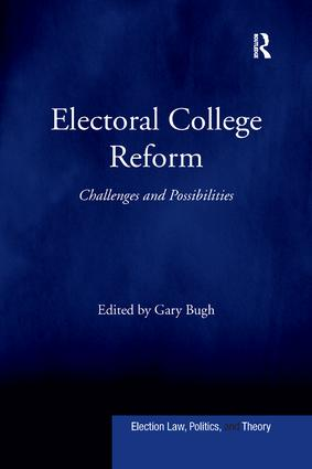 Electoral College Reform: Challenges and Possibilities book cover