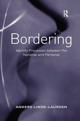 Bordering: Identity Processes between the National and Personal, 1st Edition (Paperback) book cover