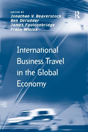 International Business Travel in the Global Economy: 1st Edition (Paperback) book cover