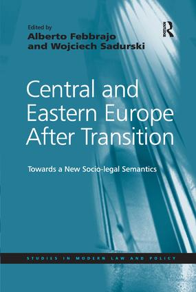 Central and Eastern Europe After Transition